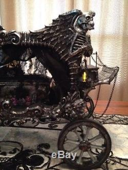 Katherine's Collection Halloween Carriage Hearse -New