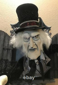 Katherine's Collection Halloween Creepy Night Watchman Wall PieceRetired