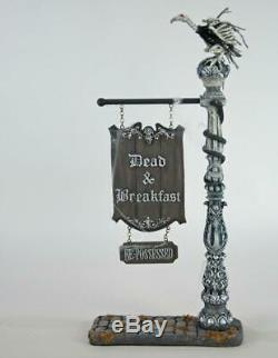 Katherine's Collection Halloween Dead and Breakfast Sign