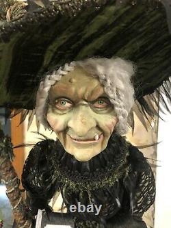 Katherine's Collection Halloween Doll 32 MIDNIGHT TREE WITCH # Out Of 34 Made