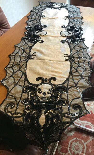 Katherine's Collection Halloween Family Portrait Table Runnernewretired