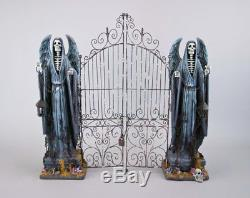 Katherine's Collection Halloween Forest Cemetery 26 Tabletop Cemetery Gate NEW