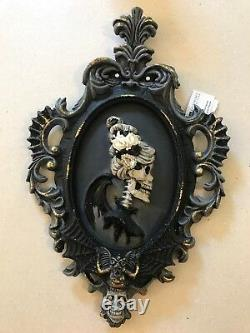 Katherine's Collection Halloween Framed Silhouette Portrait SetRetired