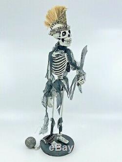 Katherine's Collection Halloween Krooked Kingdom Skeletons 13, Set of 3