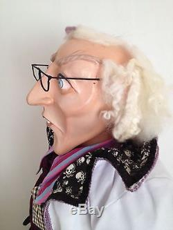 Katherine's Collection Halloween Life Size 59 Doll Display Mad Scientist Doctor