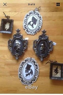 Katherine's Collection Halloween Silhouette Portraits-Set of 2