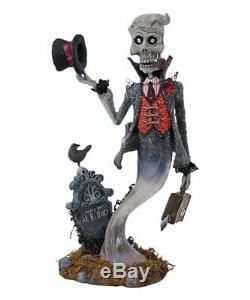 Katherine's Collection Halloween Traveling Gentleman & Lady Ghost Figurines NIB