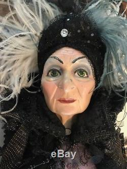 Katherine's Collection Halloween Zitella Witch Doll! Rare Signed By Katherine