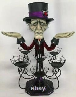 Katherine's Collection Haunted Chandelier Cupcake Stand 28-028630 NEW HALLOWEEN