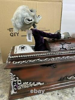 Katherine's Collection Haunted Coffin 12 Long 28-022633 Undead Zombie Halloween