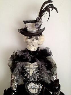 Katherine's Collection Life Size 57 Halloween Display Prop Skeleton Doll