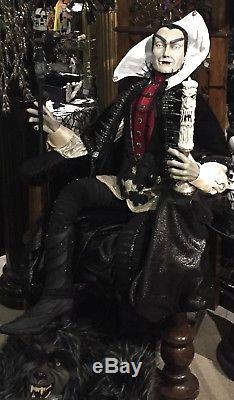 Katherine's Collection Lifesize Halloween Vampire Count Dracula Family Portrait