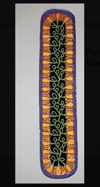 Katherine's Collection Pumpkin Patch Table Runner 30-830103 Halloween