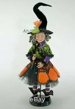 Katherine's Collection Pumpkin Patch Witch Doll 18 28-828239