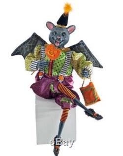 Katherine's Collection Tricky Treats Bat Doll 22 NEW 18-640010 Halloween