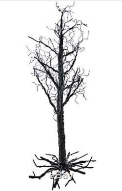Katherine's Collection Tricky Treats Halloween Table Top 40 Black Twig Tree NEW