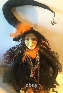 Katherine's Collection Wayne Kleski Baba Yaga Witch Doll 28 Retired