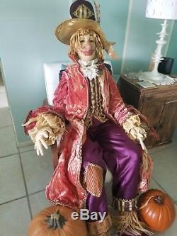 Katherine's Collection-Wayne Kleski (Retired) 65 Hank Scarecrow