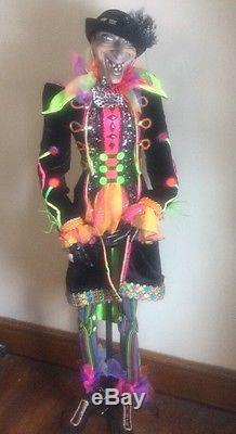 Katherine's Collection Wayne Kleski Retired Rare Life size Scary Halloween Doll