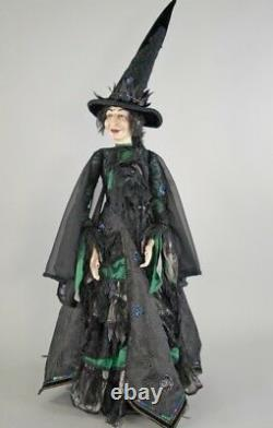 Katherine's Collection Witch Spellbound Halloween Doll 32 NEW 11711267