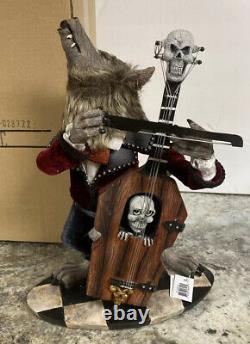 Katherine's Collection Wolfman Bass 14 Halloween Werewolf 28-028722 Skull