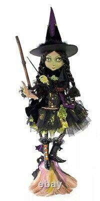 Katherine's Collection Young Broom Witch 28-928581 NEW HALLOWEEN 2020
