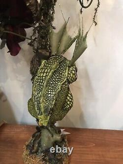 Katherines Collection Lizard Candle Holder Set