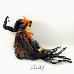 Katherines Collection Witch Halloween Baba Yaga Doll 30 38 Inches