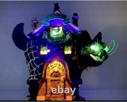 LEMAX 2021 Spooky Town MEOW MANSION CAT Halloween Exclusive NEW (In Hand)