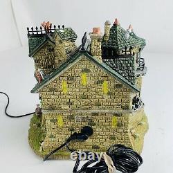 LEMAX Spooky Town Forsaken Souls Prison Lighted Halloween Village WORKS