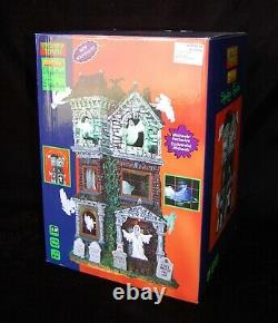 LEMAX Spooky Town Ghostly Manor NEW #65122 Animated Lights Sounds