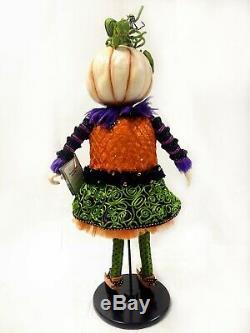 Lavish Halloween Pumpkin Patch 29 Anthropomorphic Doll Katherine's Collection
