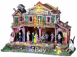 Lemax 05011 HALLOWEEN JAMBOREE Spooky Town Lighted Building Retired Animated S I