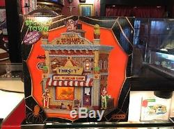 Lemax 25370 FROSTY'S ICE SCREAM SHOP Spooky Town Halloween Decor Building New