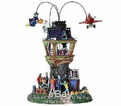 Lemax 34607 HALLOWEEN AIRSHOW Spooky Town Village Accessory Building Decor New I