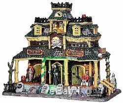 Lemax 45665 DESTINY TERMINAL Spooky Town Building Sights & Sounds Halloween I
