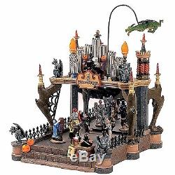 Lemax 54302 MONSTERS BALL Spooky Town Animated Halloween Decor Sights & Sounds I