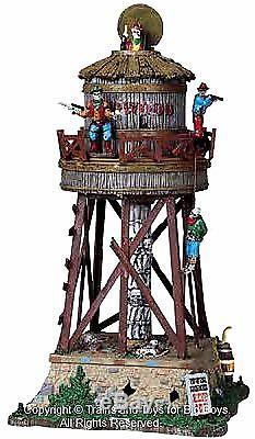 Lemax 84765 DEADWOOD WATER TOWER Spooky Town Retired Animated Building Decor I