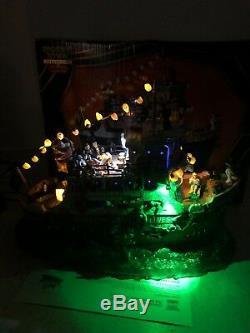 Lemax Bloody Mary Spooky Phantom Cruise Ship Sea Monster Ghost Halloween MiB