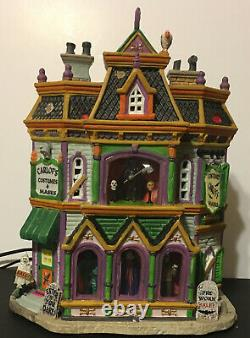 Lemax CARLOF'S COSTUMES & MASKS Spooky Town Building Halloween Retired 75495
