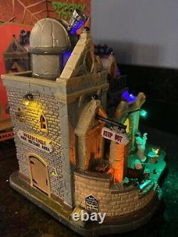 Lemax DR. GLOOM N. DOOM'S LABORATORY Spooky Town OBSERVATORY Halloween NIB RARE