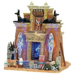 Lemax Halloween CURSED TOMB Spooky Town RARE NEW IN BOX