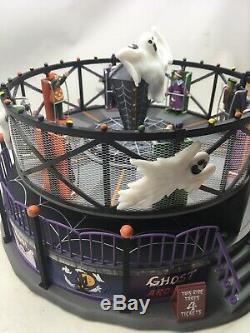 Lemax Halloween Ghost Around Village Building Spooky Town
