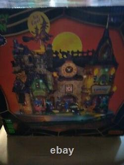 Lemax Halloween Spooky Town LIL' WITCHES & WARLOCKS NIGHTCARE withbox READ