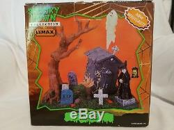 Lemax Halloween Spooky Town and Department 56 Set of 7 Retired Pieces