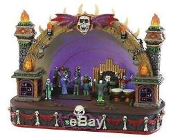 Lemax Halloween Symphony Of Screams Village Building Spooky Town