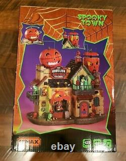 Lemax Haunted Halloween The Ghoulish Gourd Pub & Grill Spooky Town NEW IN BOX