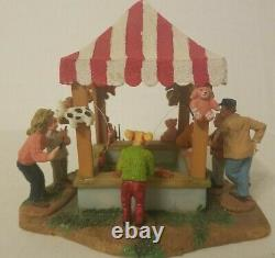 Lemax RETIRED Halloween Christmas Village Fishin' Pond 83685 Carnival Fair