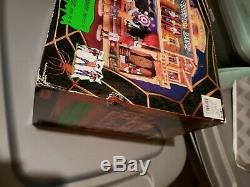 Lemax Spooky Town 2010 SHOOTING RANGE in GREAT CONDITION. Complete 4 Piece Set