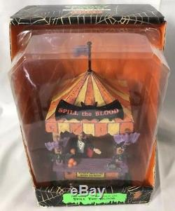 Lemax Spooky Town Accessory Table Accent SPILL THE BLOOD in box